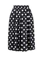 Steffen Schraut Blouse with Polka Dots 'Summer Dot' Black and White