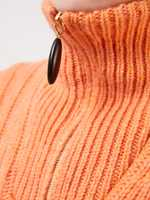 Nanushka Kurzer Strickpullover 'Eria' Orange