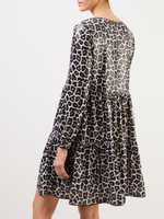 Steffen Schraut 'The wild dress' mit Leoprint und Pailletten Multi